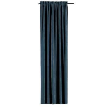 Gardin med kanal - Multiband 1 längd i kollektionen Velvet, Tyg: 704-16