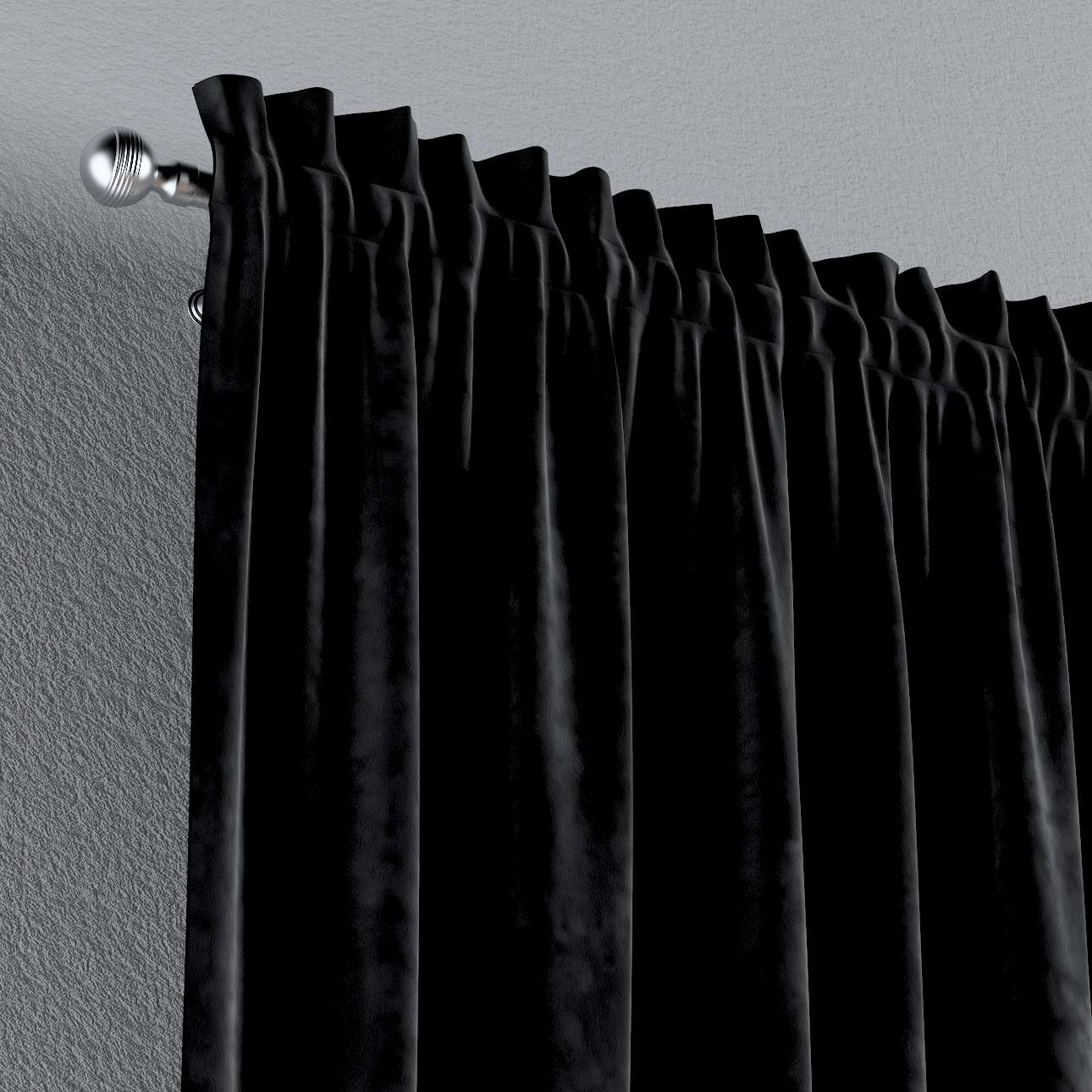 Gardin med løbegang - multibånd 1 stk. fra kollektionen Velvet, Stof: 704-17