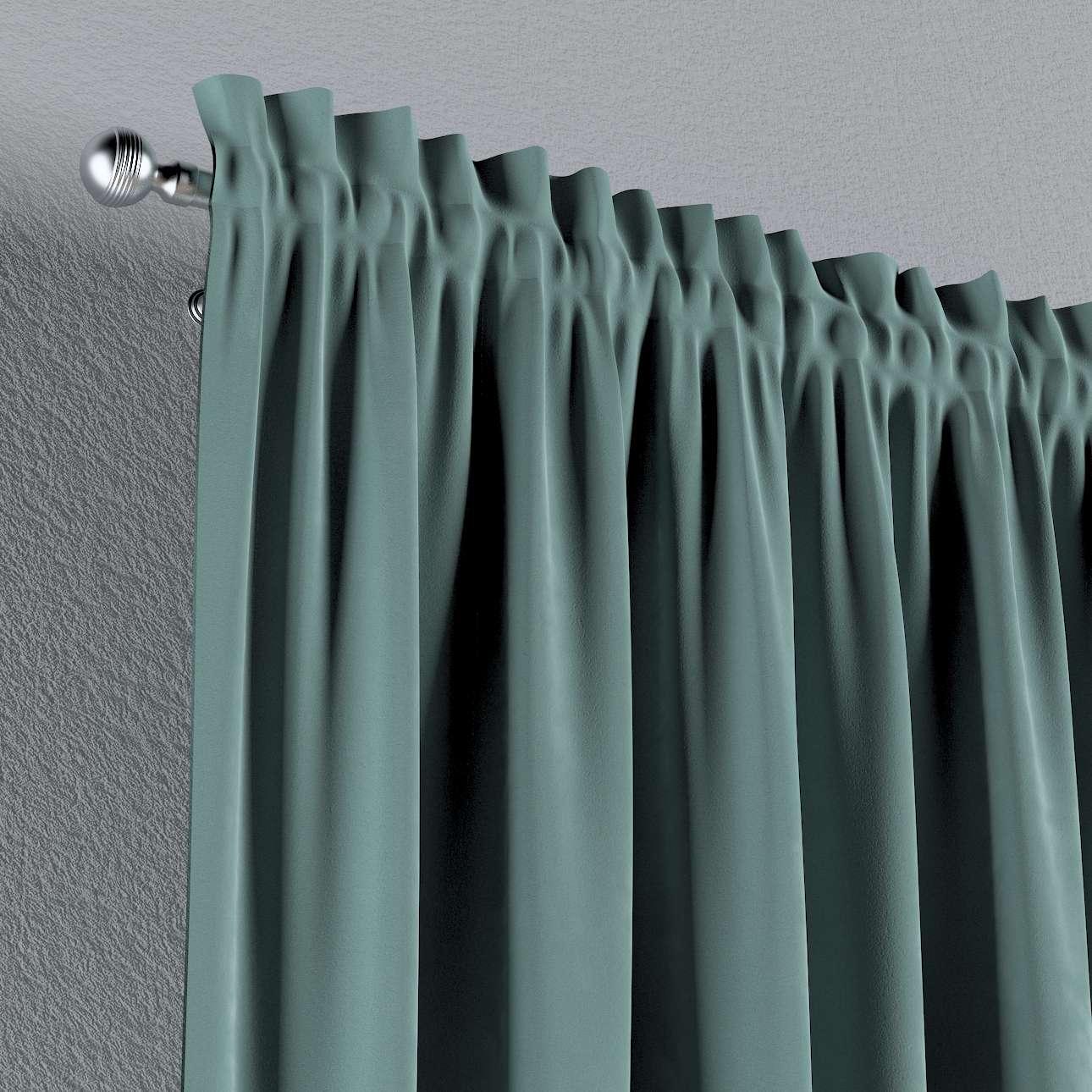 Gardin med kanal - Multiband 1 längd i kollektionen Velvet, Tyg: 704-18