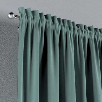 Slot and frill curtains in collection Velvet, fabric: 704-18