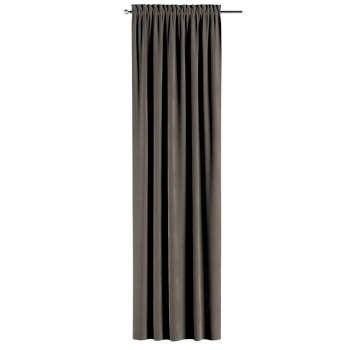 Záves s navliekacou riasiacou páskou V kolekcii Velvet, tkanina: 704-19
