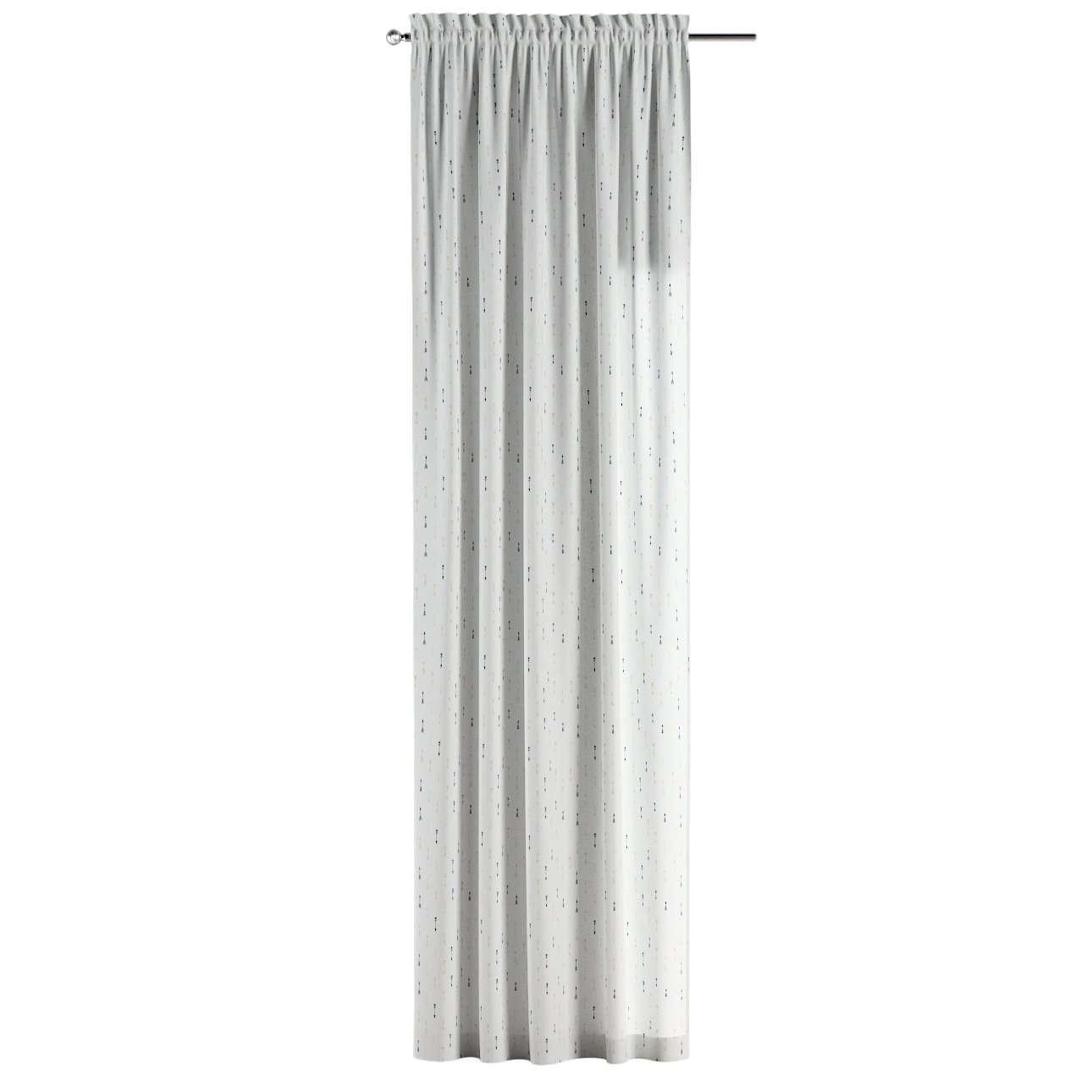 Gardin med løpegang - multibånd 1 stk. 130 × 260 cm fra kolleksjonen Adventure, Stoffets bredde: 141-82