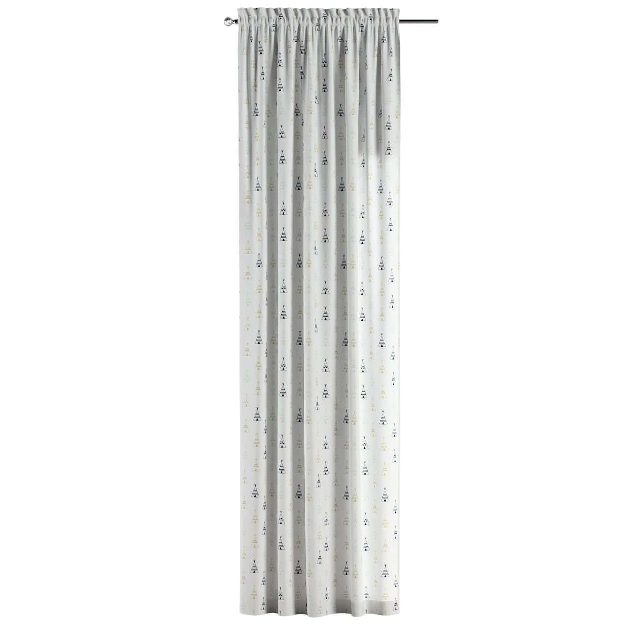 Gardin med kanal - Multiband 1 längd i kollektionen Adventure, Tyg: 141-84