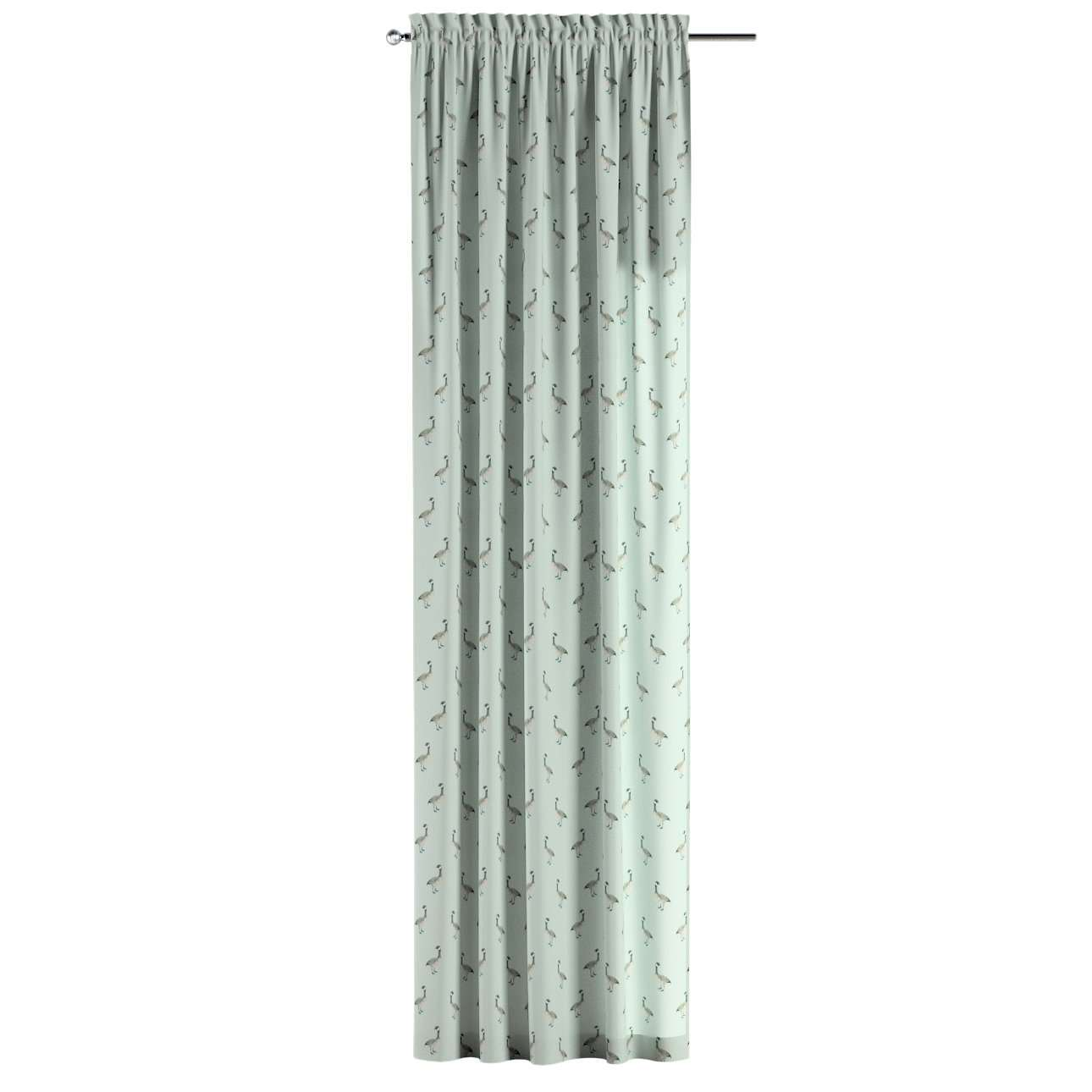 Slot and frill curtains in collection Flowers, fabric: 141-79