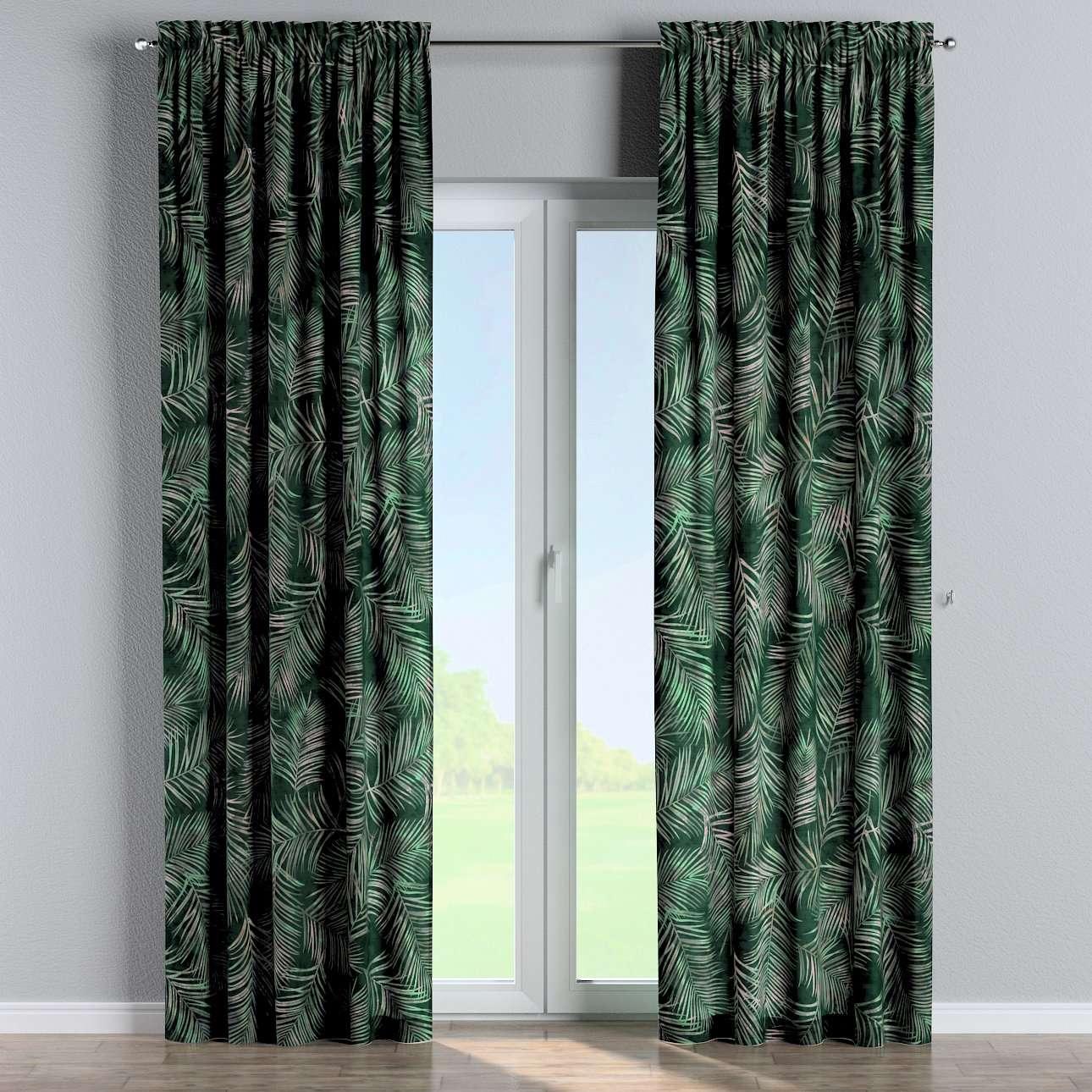 Bujtatós függöny rüssel a kollekcióból Velvet  Lakástextil, Dekoranyag: 704-21