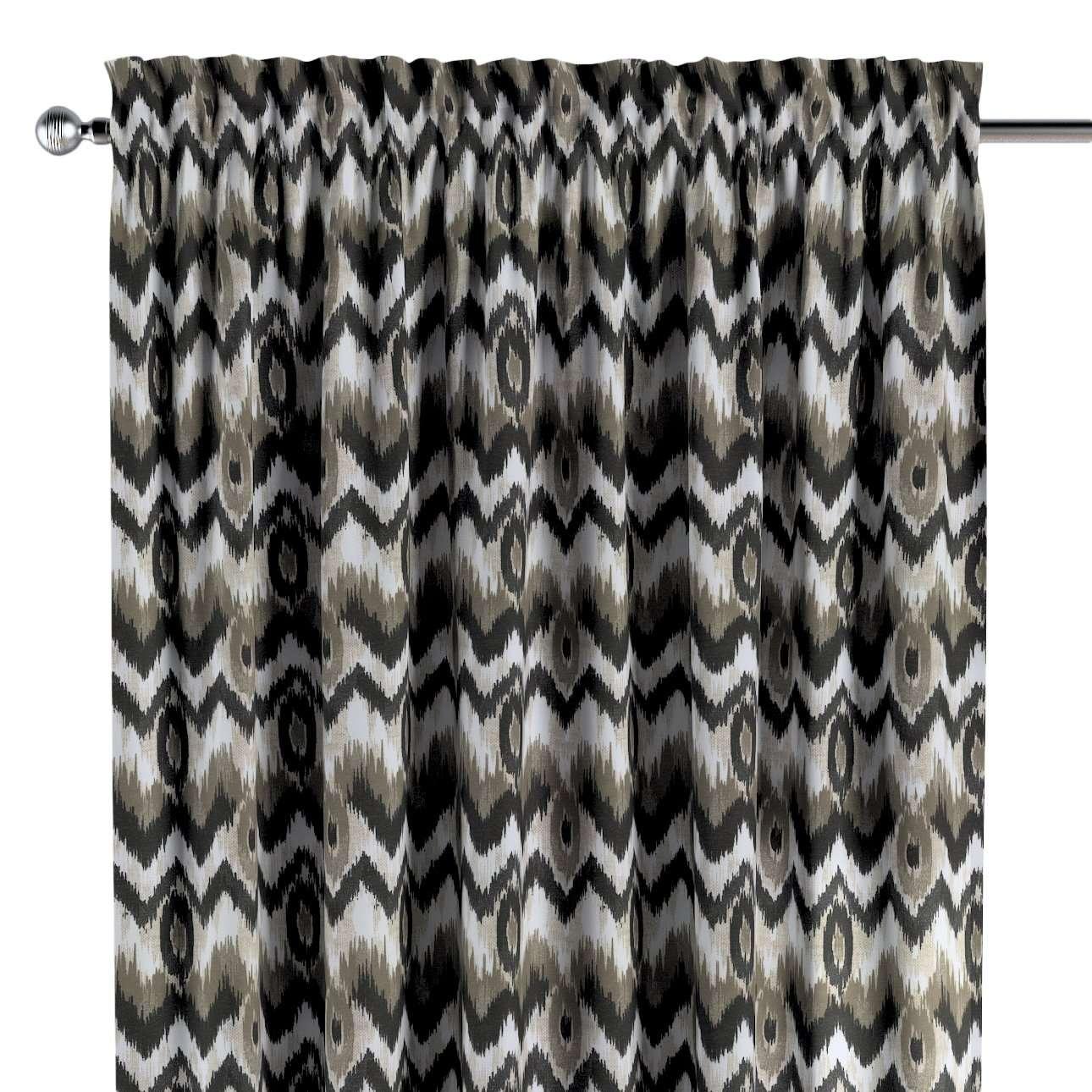 Gardin med kanal - Multiband 1 längd i kollektionen Modern, Tyg: 141-88