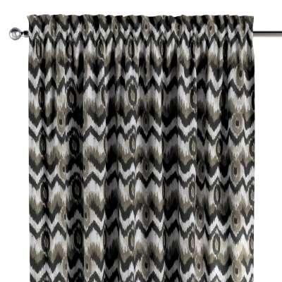 Zasłona na kanale z grzywką 1 szt. w kolekcji Modern, tkanina: 141-88