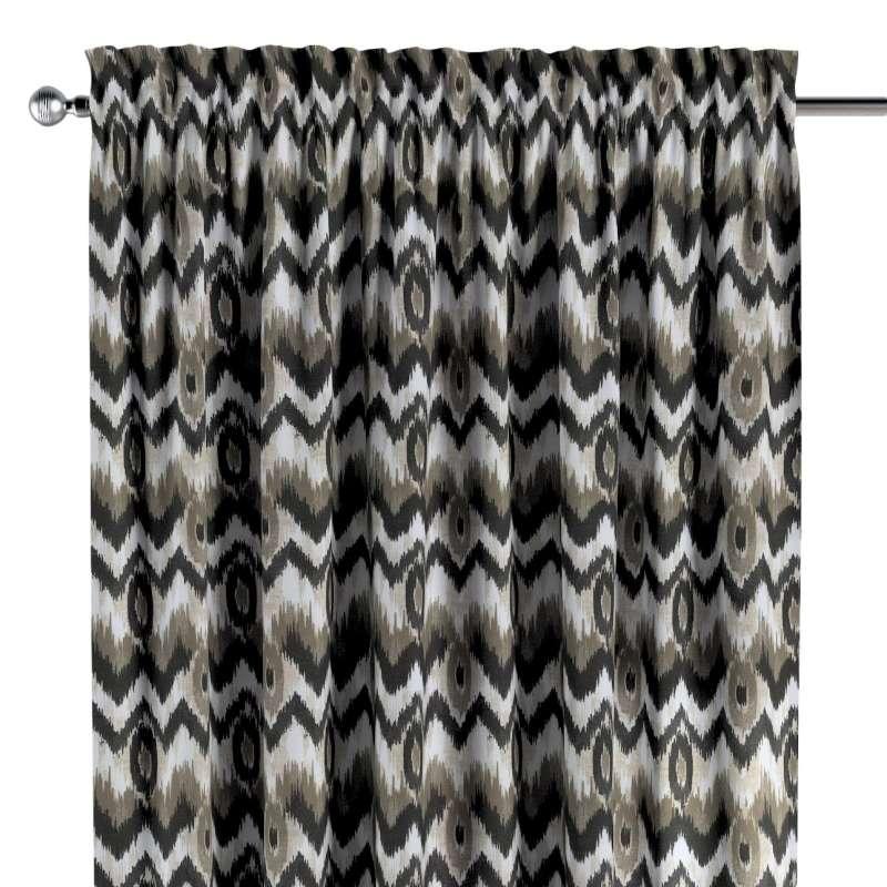 Záves s navliekacou riasiacou páskou V kolekcii Modern, tkanina: 141-88