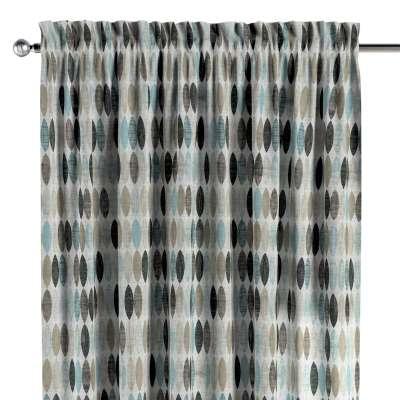 Gardin med løpegang - multibånd 1 stk. 141-91 Naturhvit med print Kolleksjon Modern