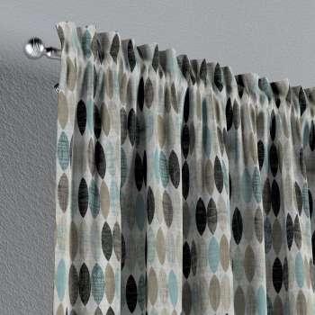 Gardin med kanal - Multiband 1 längd i kollektionen Modern, Tyg: 141-91