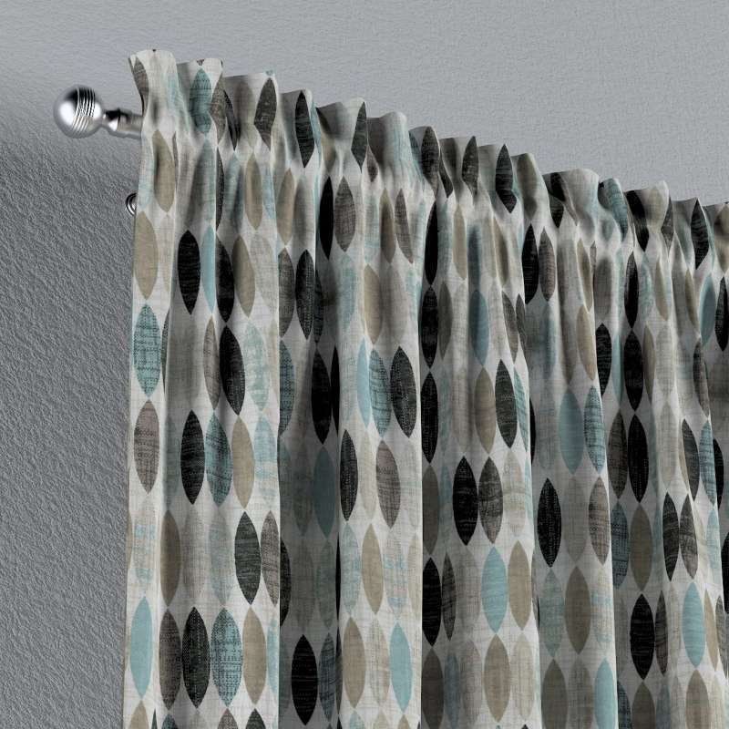 Záves s navliekacou riasiacou páskou V kolekcii Modern, tkanina: 141-91