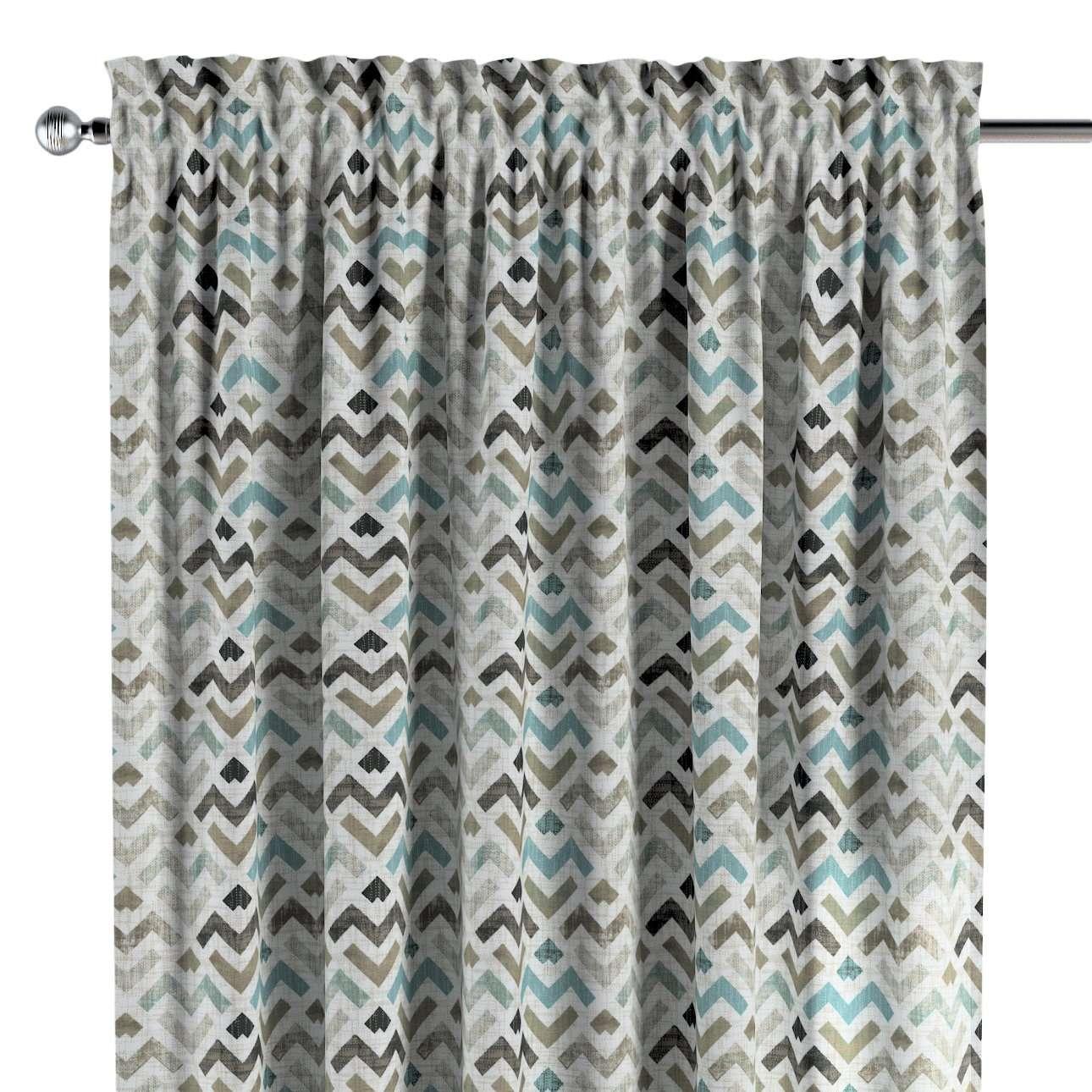 Gardin med kanal - Multiband 1 längd i kollektionen Modern, Tyg: 141-93