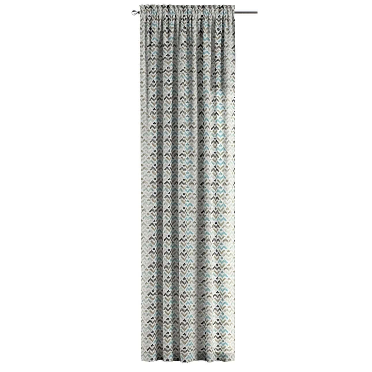 Gardin med løbegang - multibånd 1 stk. fra kollektionen Modern, Stof: 141-93