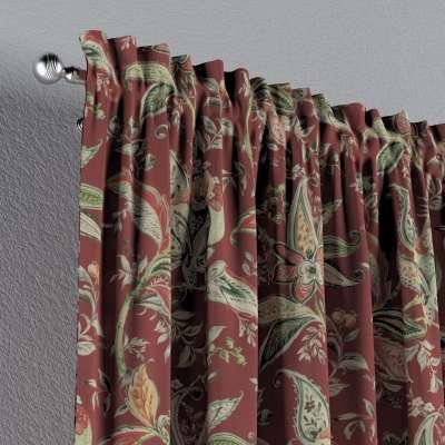 Záves s navliekacou riasiacou páskou V kolekcii Gardenia, tkanina: 142-12