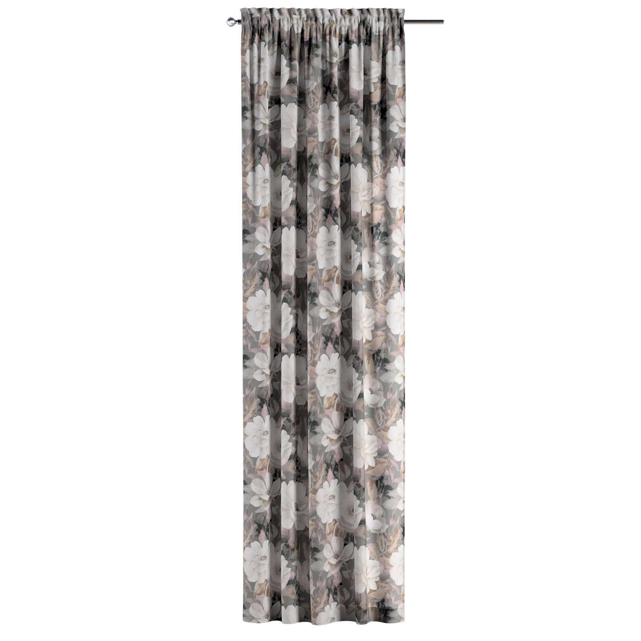 Bujtatós függöny rüssel a kollekcióból Gardenia Lakástextil, Dekoranyag: 142-13