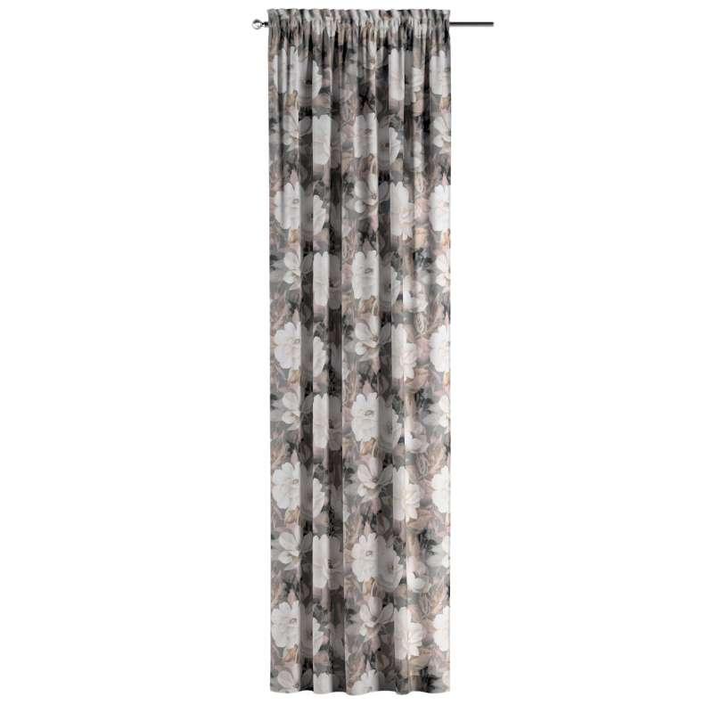 Zasłona na kanale z grzywką 1 szt. w kolekcji Gardenia, tkanina: 142-13