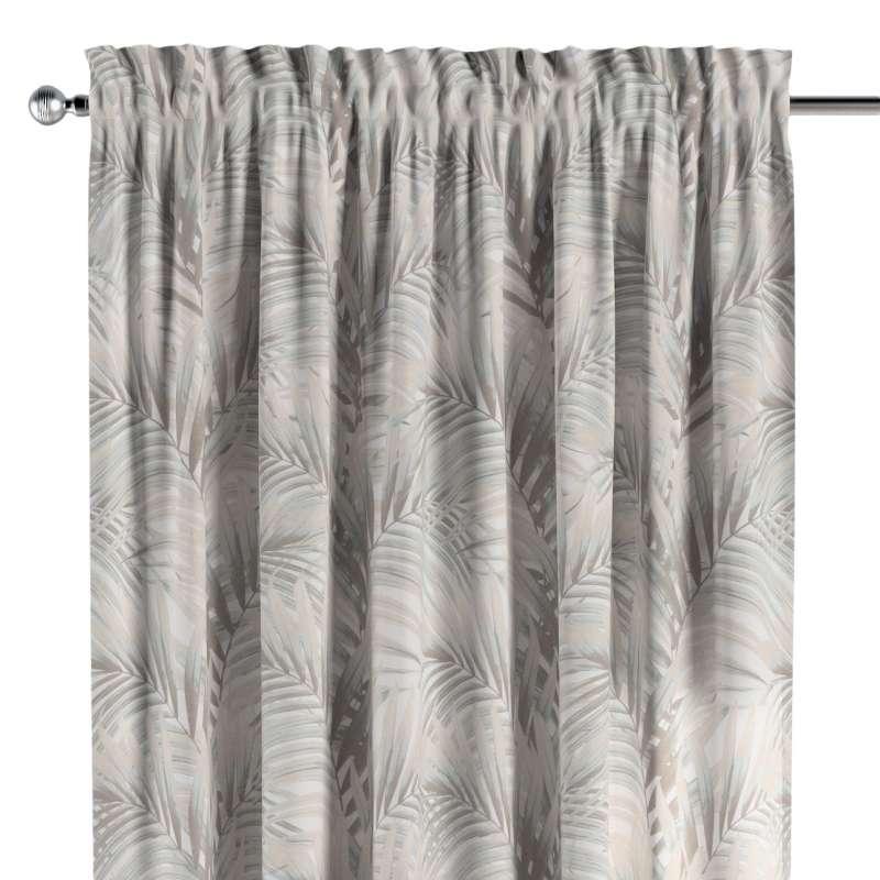 Záves s navliekacou riasiacou páskou V kolekcii Gardenia, tkanina: 142-14