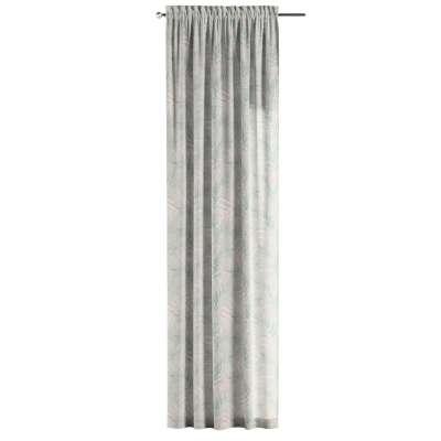 Vorhang mit Tunnel und Köpfchen von der Kollektion Gardenia, Stoff: 142-15