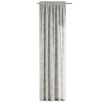 Zasłona na kanale z grzywką 1 szt. w kolekcji Gardenia, tkanina: 142-15