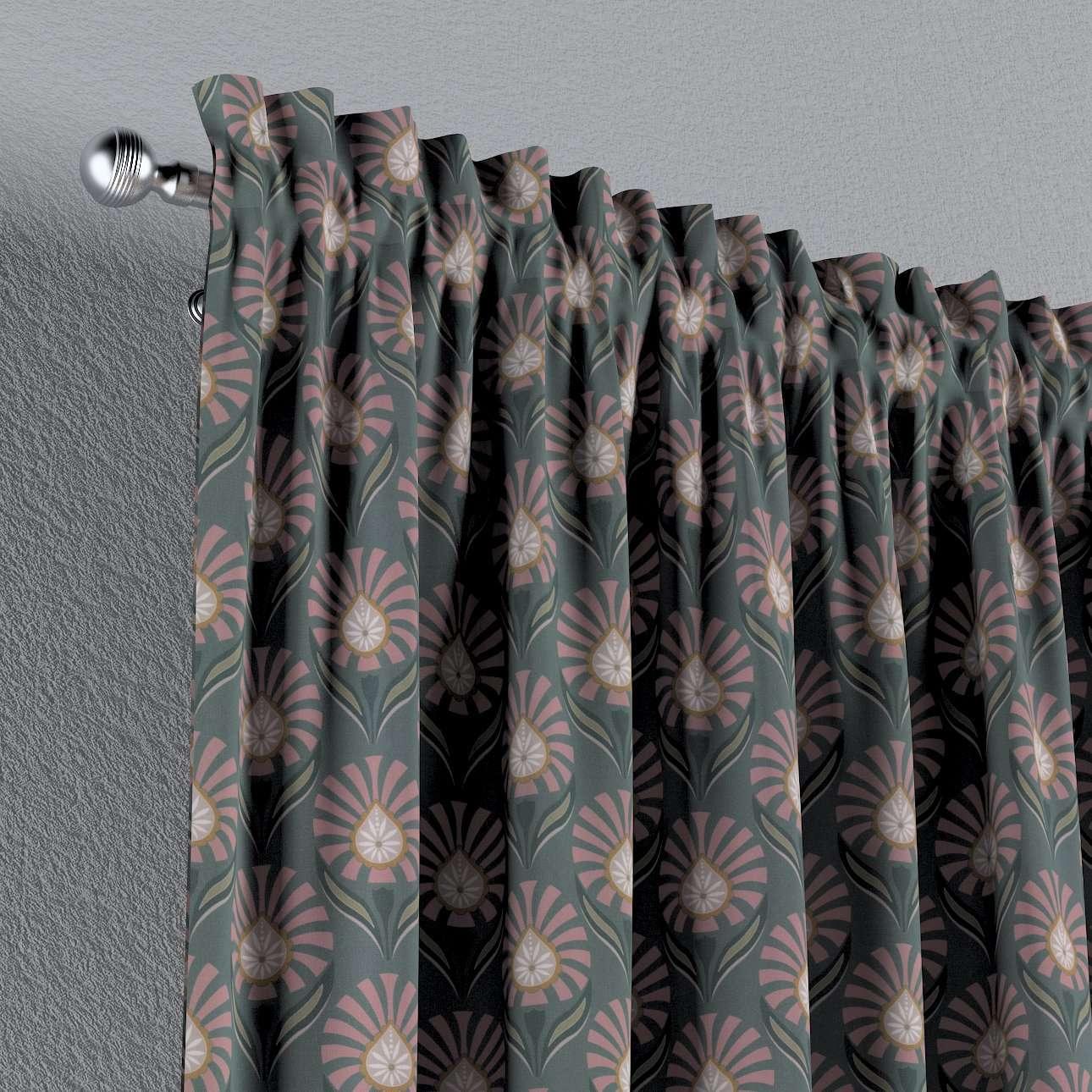 Záves s navliekacou riasiacou páskou V kolekcii Gardenia, tkanina: 142-17