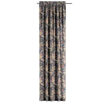 Gardin med kanal - Multiband 1 längd i kollektionen Gardenia, Tyg: 142-19