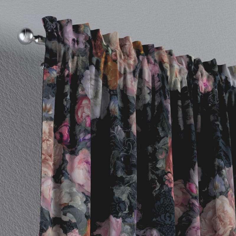 Záves s navliekacou riasiacou páskou V kolekcii Gardenia, tkanina: 161-02
