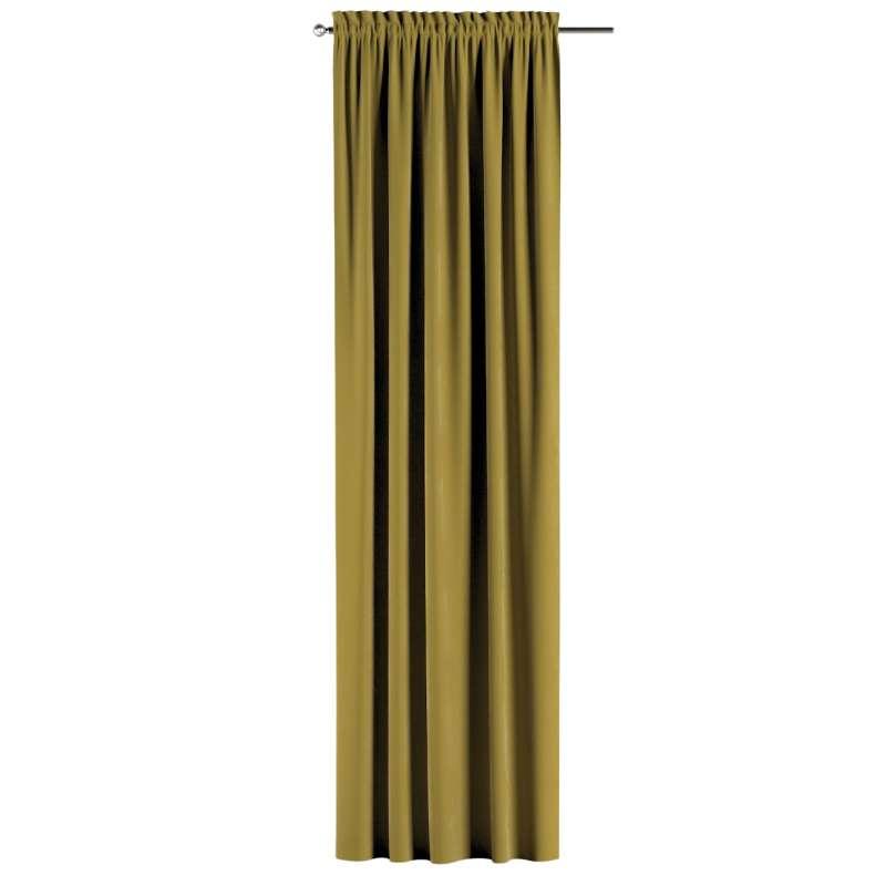 Záves s navliekacou riasiacou páskou V kolekcii Velvet, tkanina: 704-27