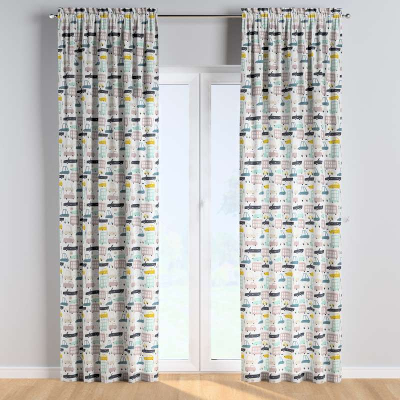 Vorhang mit Tunnel und Köpfchen 1 Stck. von der Kollektion Magic Collection, Stoff: 500-02
