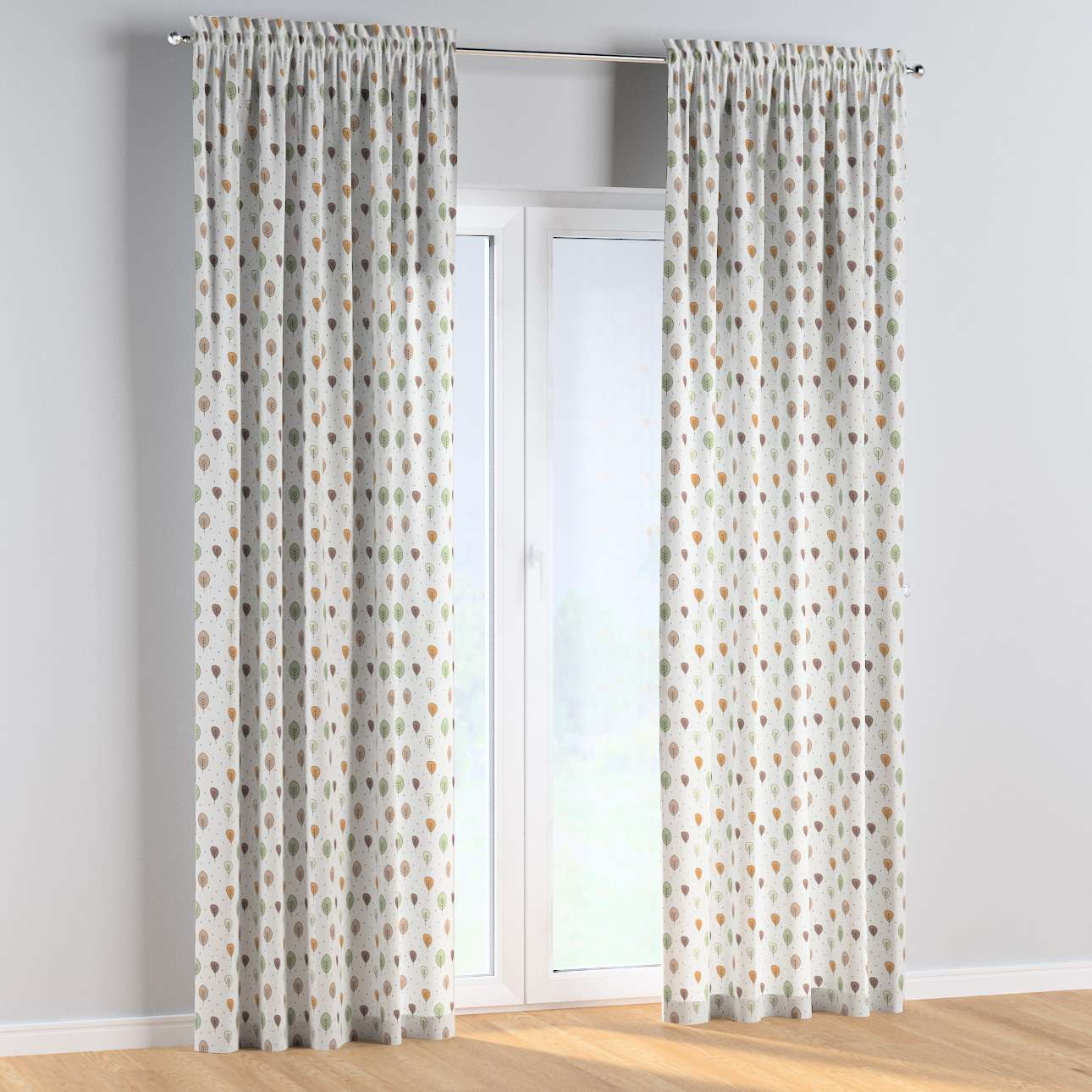 Slot and frill curtains in collection Magic Collection, fabric: 500-09