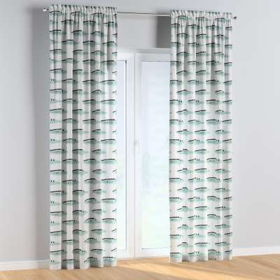 Slot and frill curtains 500-11  Collection Magic Collection