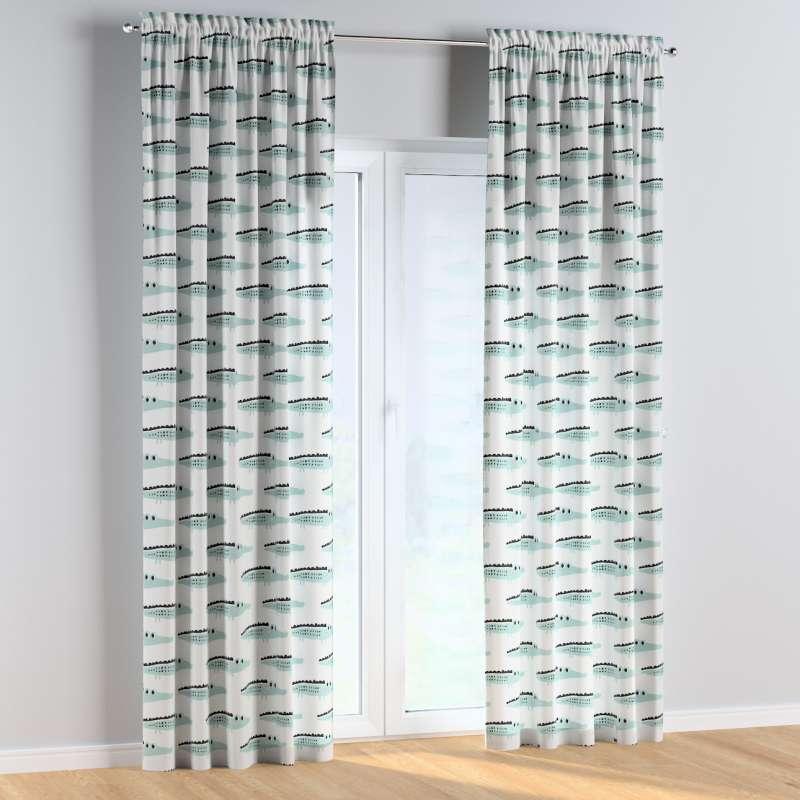 Vorhang mit Tunnel und Köpfchen 1 Stck. von der Kollektion Magic Collection, Stoff: 500-11