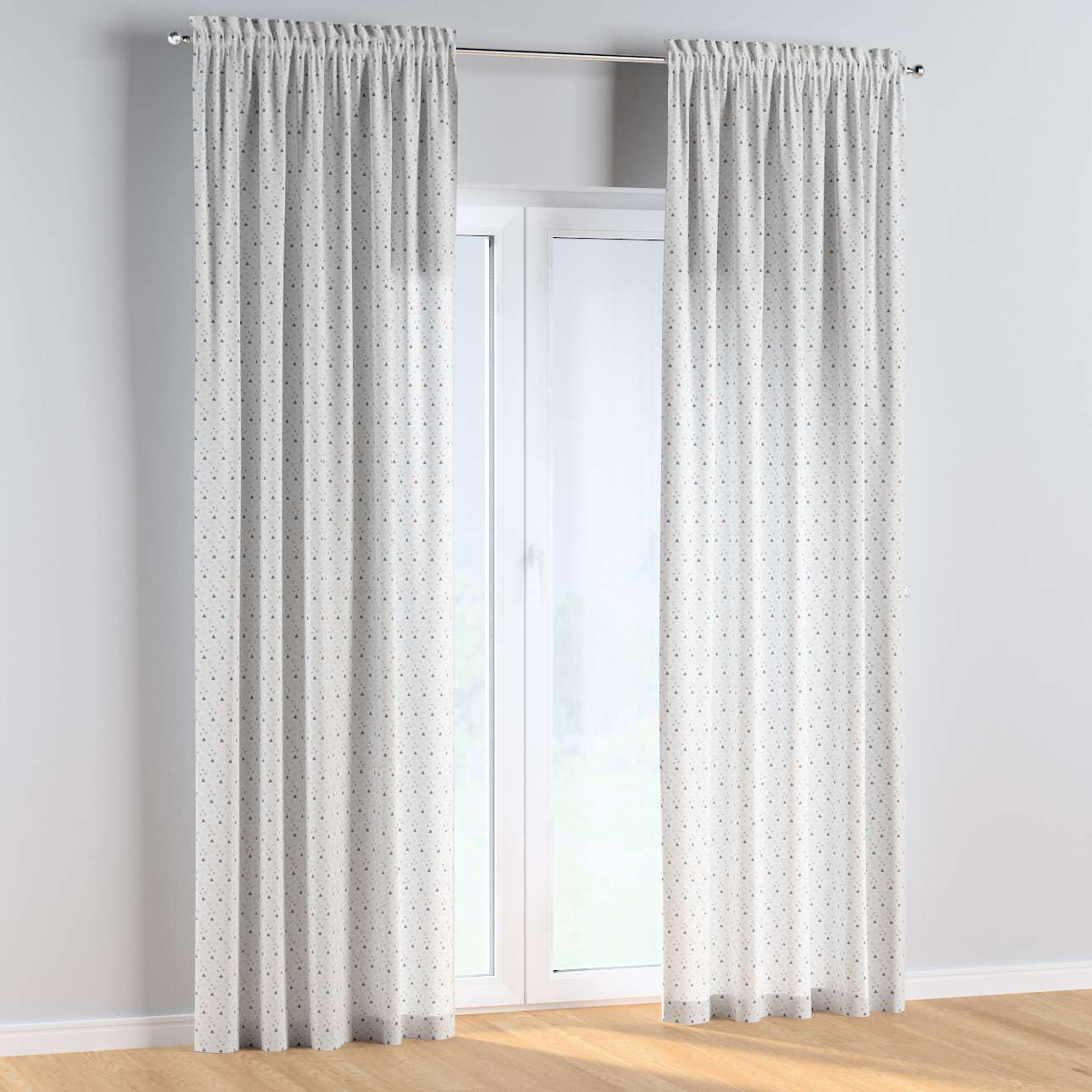 Slot and frill curtains in collection Magic Collection, fabric: 500-22