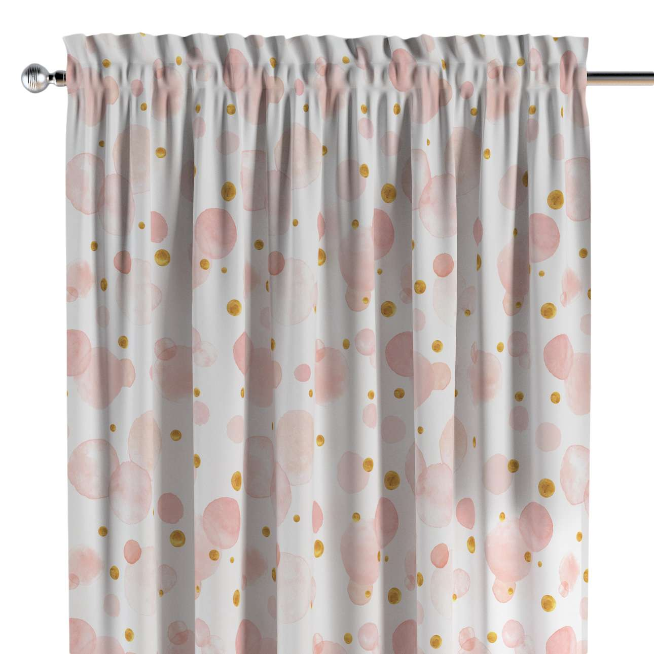Slot and frill curtains in collection Magic Collection, fabric: 500-13