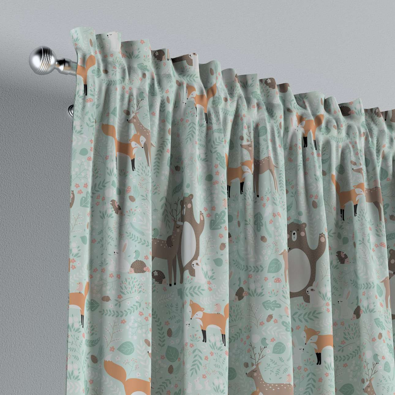 Slot and frill curtains in collection Magic Collection, fabric: 500-15