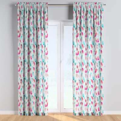 Slot and frill curtains in collection Magic Collection, fabric: 500-17