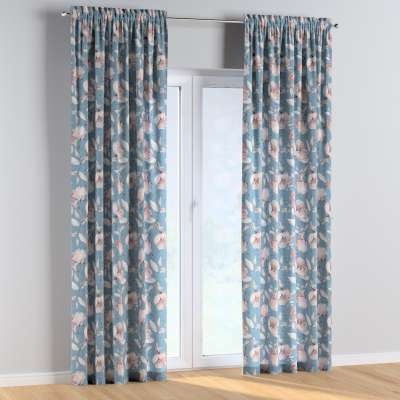 Vorhang mit Tunnel und Köpfchen 1 Stck. 500-18 blau Kollektion Magic Collection