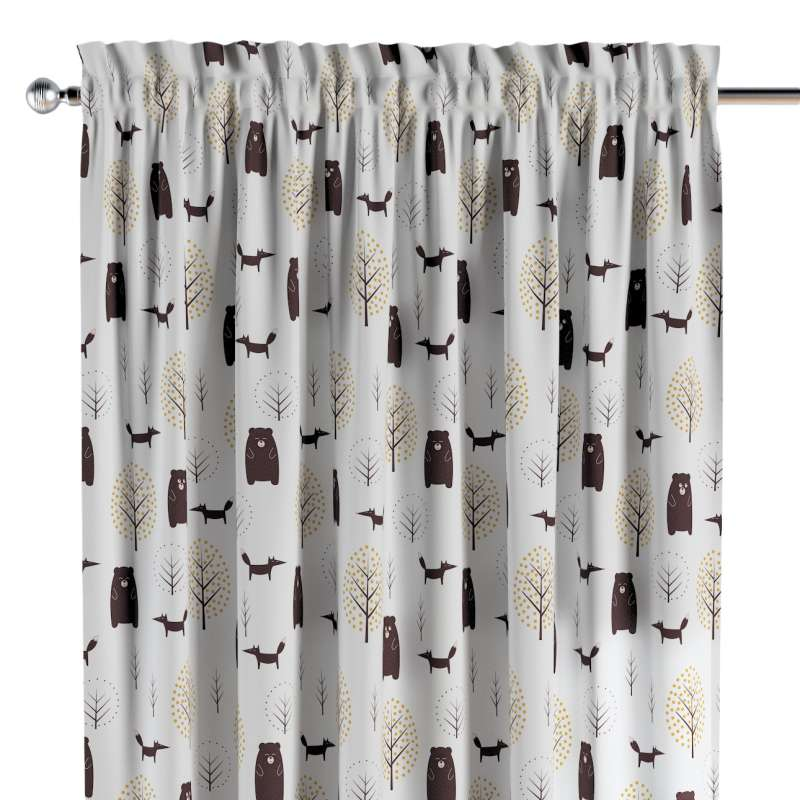Slot and frill curtains in collection Magic Collection, fabric: 500-19