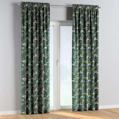 Vorhang mit Tunnel und Köpfchen 1 Stck. 500-20 grün Kollektion Magic Collection