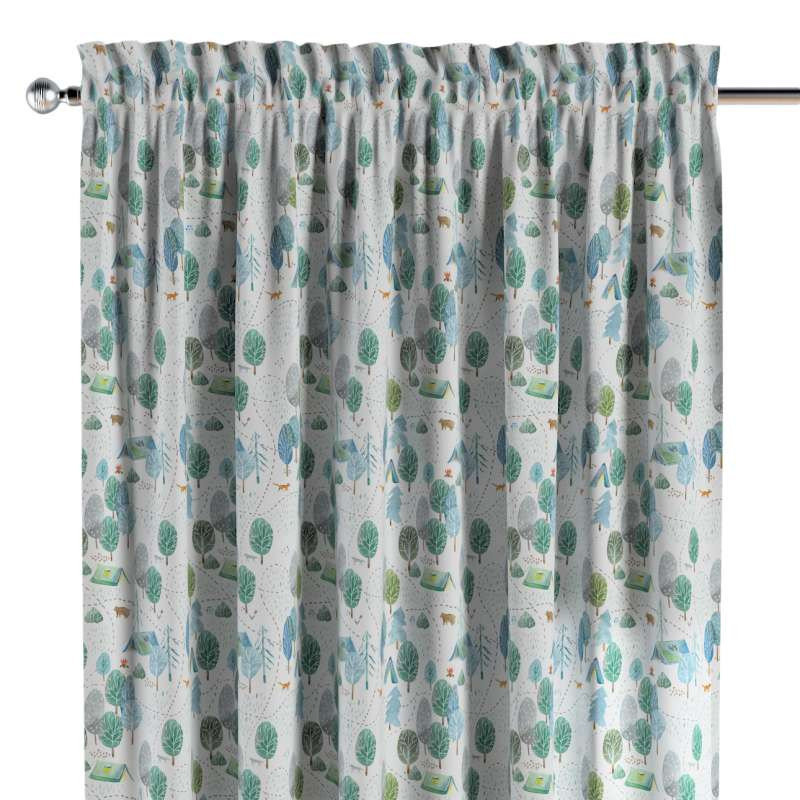 Slot and frill curtains in collection Magic Collection, fabric: 500-21