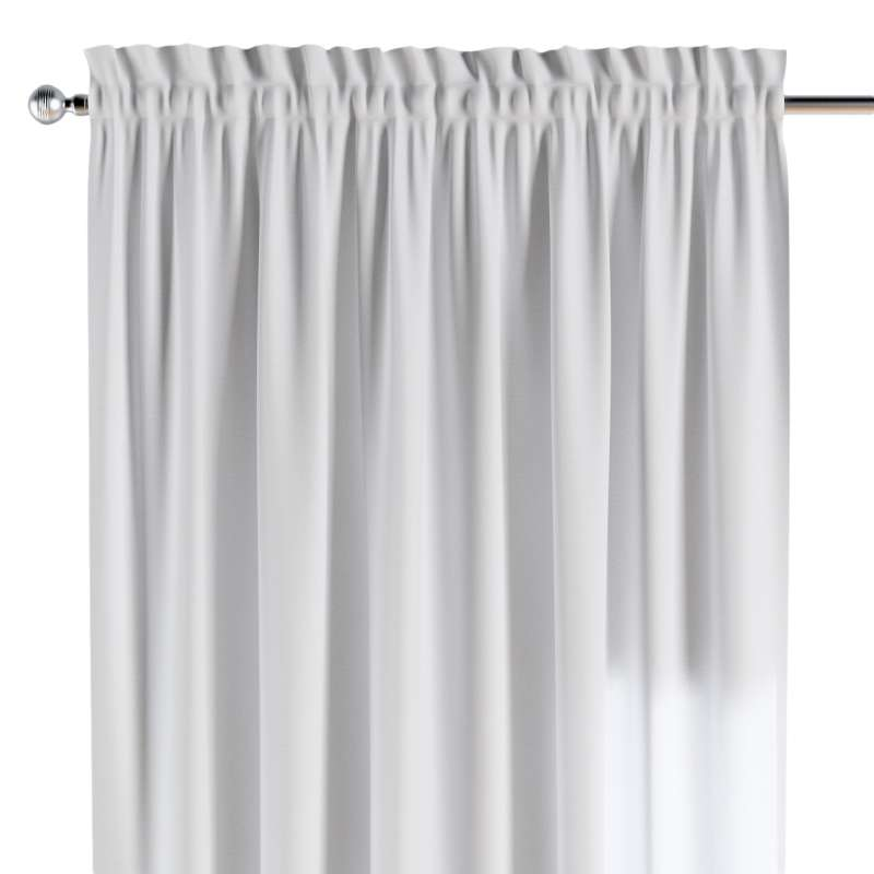 Slot and frill curtains in collection Happiness, fabric: 133-02