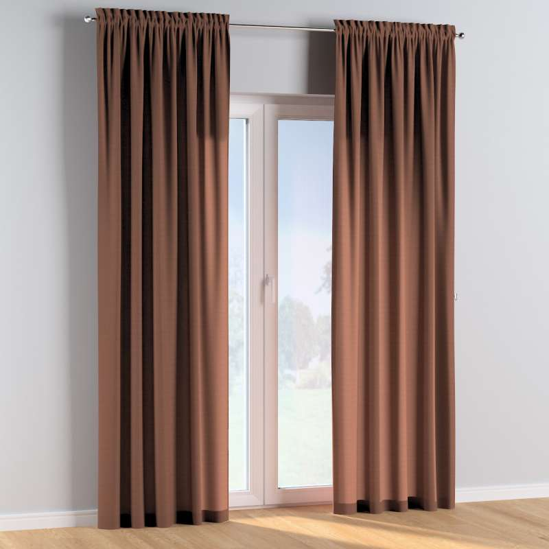 Slot and frill curtains in collection Happiness, fabric: 133-09