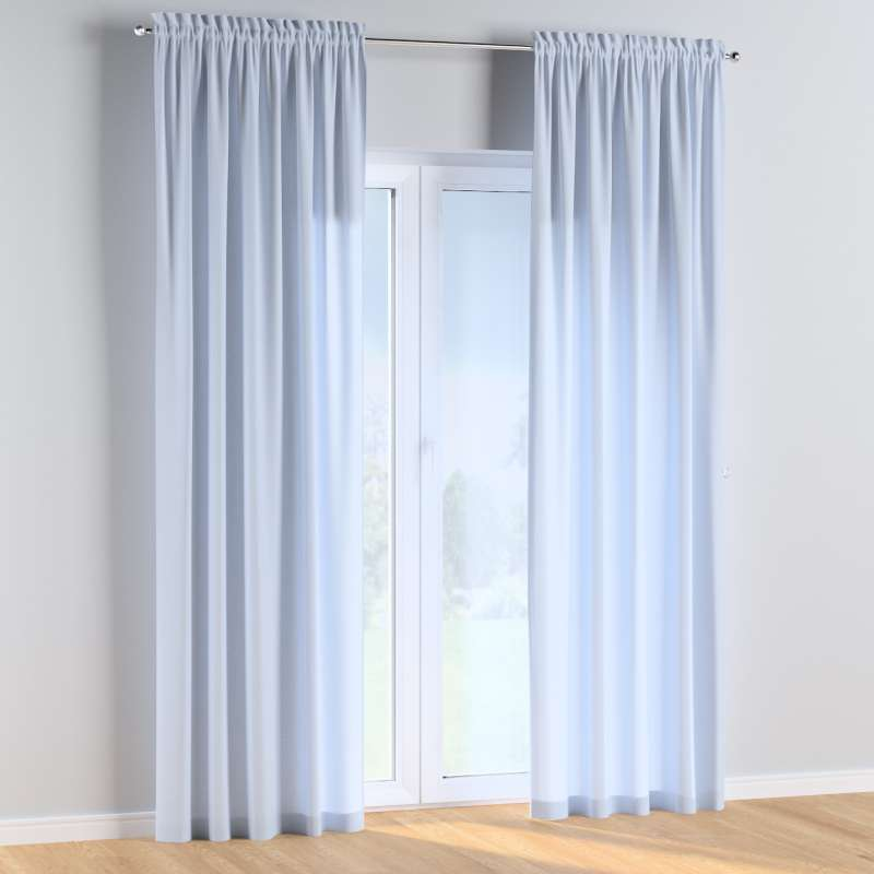 Slot and frill curtains in collection Happiness, fabric: 133-35