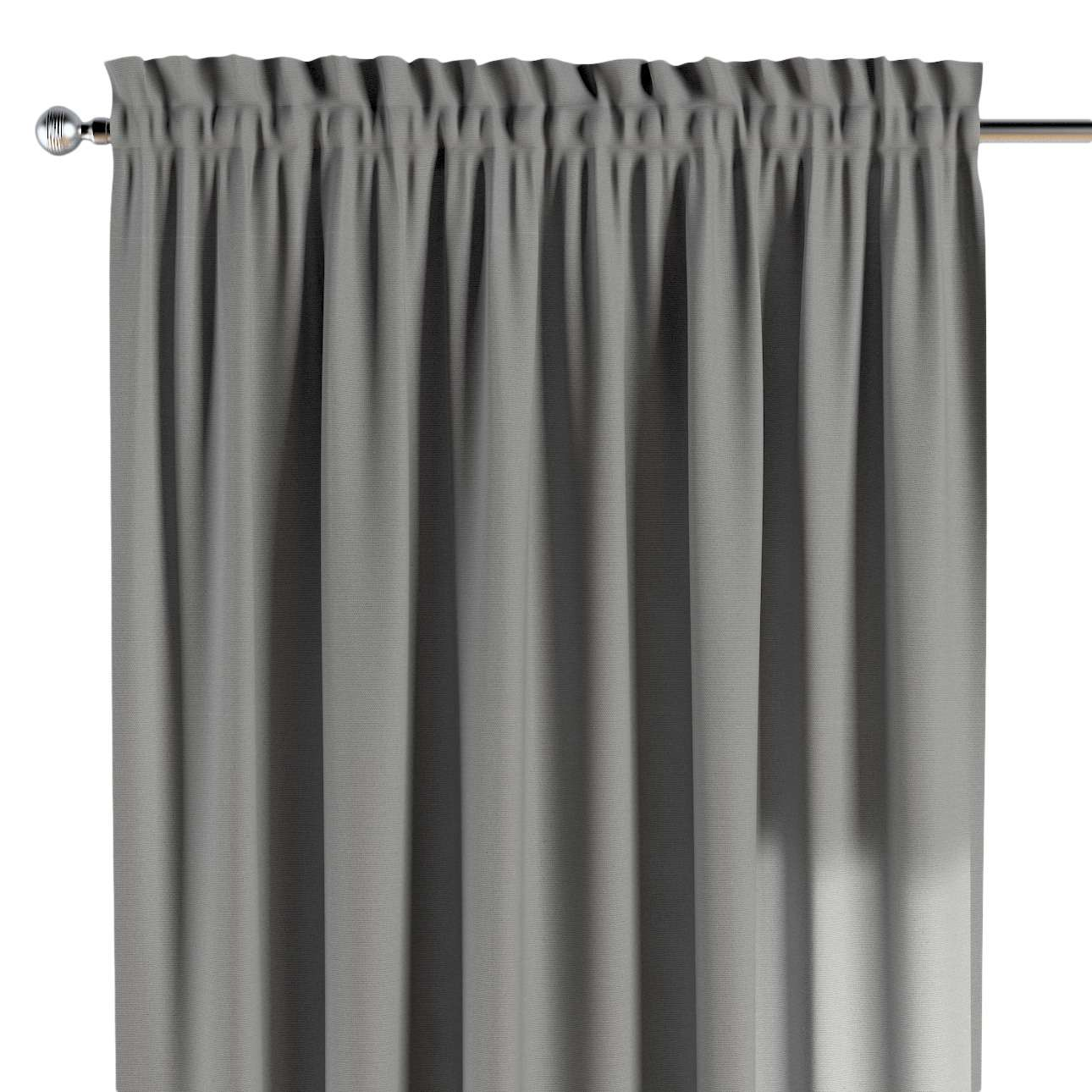 Slot and frill curtains in collection Happiness, fabric: 133-24