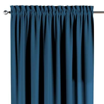 Užuolaidos su karūnėle 1vnt. 702-30 tamsi mėlyna Kolekcija Cotton Story