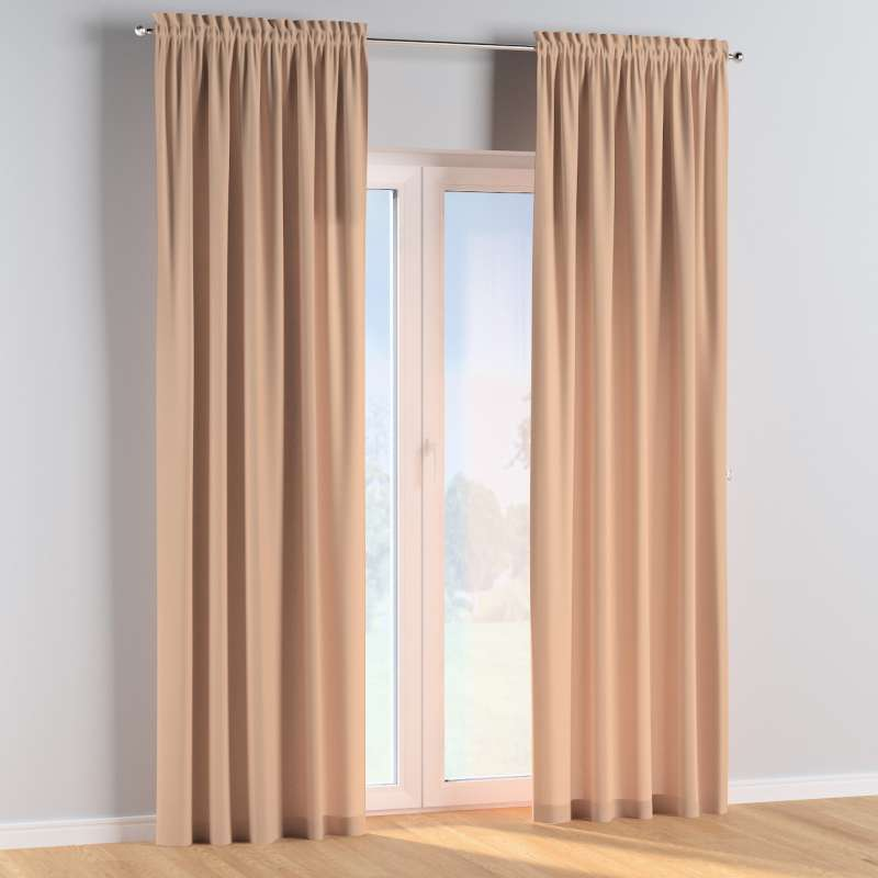 Slot and frill curtains in collection Cotton Story, fabric: 702-01