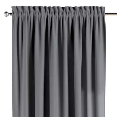 Slot and frill curtains 702-07 grey Collection Cotton Story