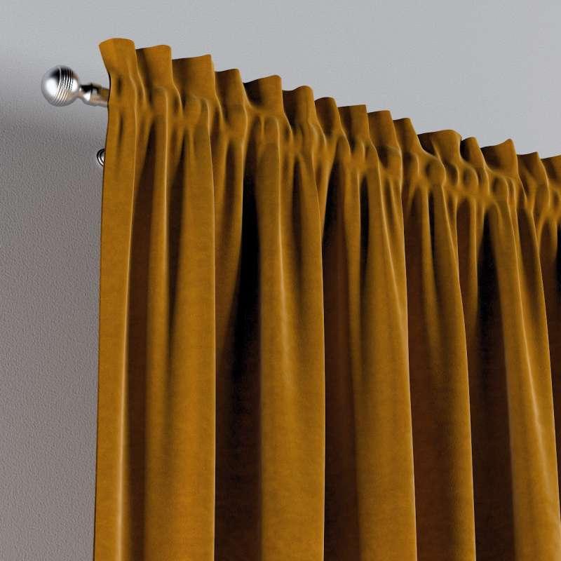 Vorhang mit Tunnel und Köpfchen 1 Stck. von der Kollektion Posh Velvet, Stoff: 704-23