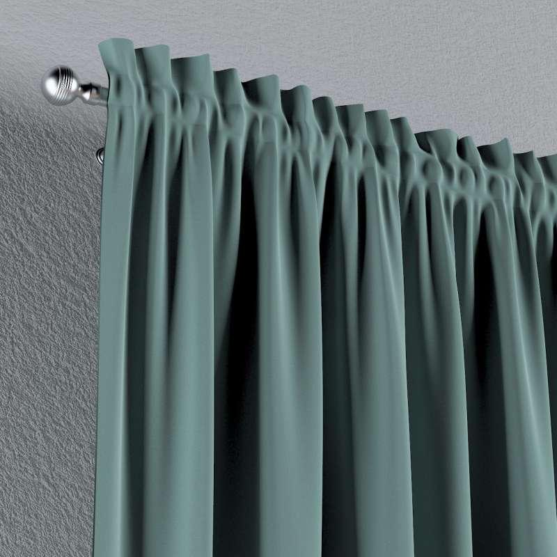 Vorhang mit Tunnel und Köpfchen 1 Stck. von der Kollektion Posh Velvet, Stoff: 704-18