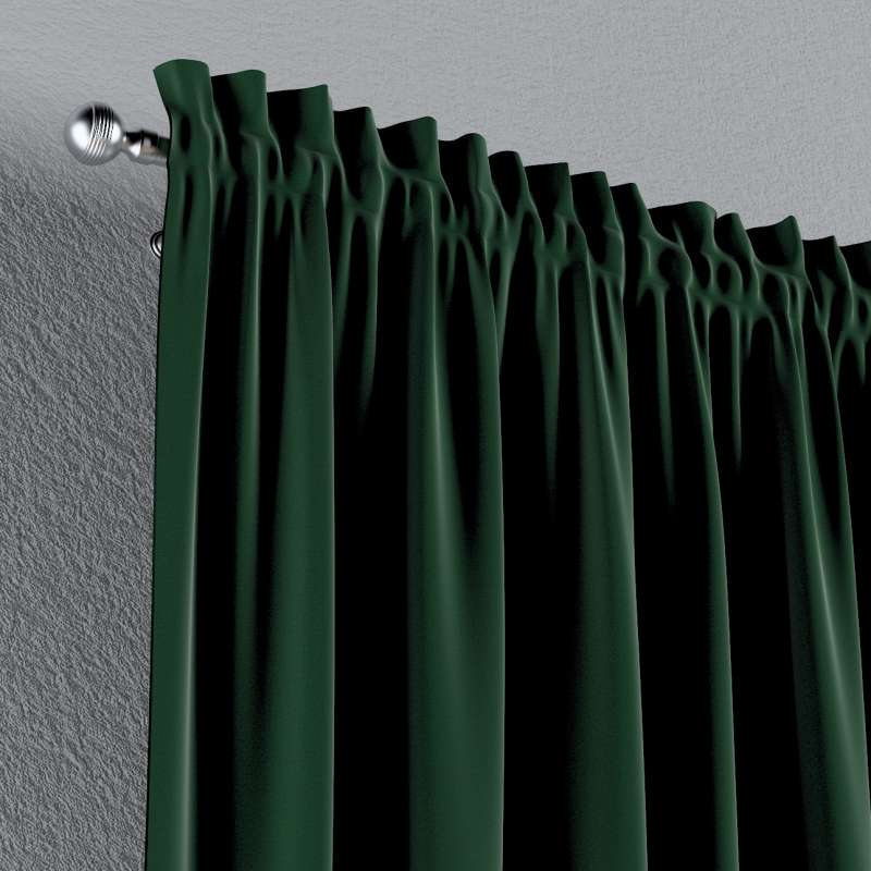 Slot and frill curtains in collection Posh Velvet, fabric: 704-13