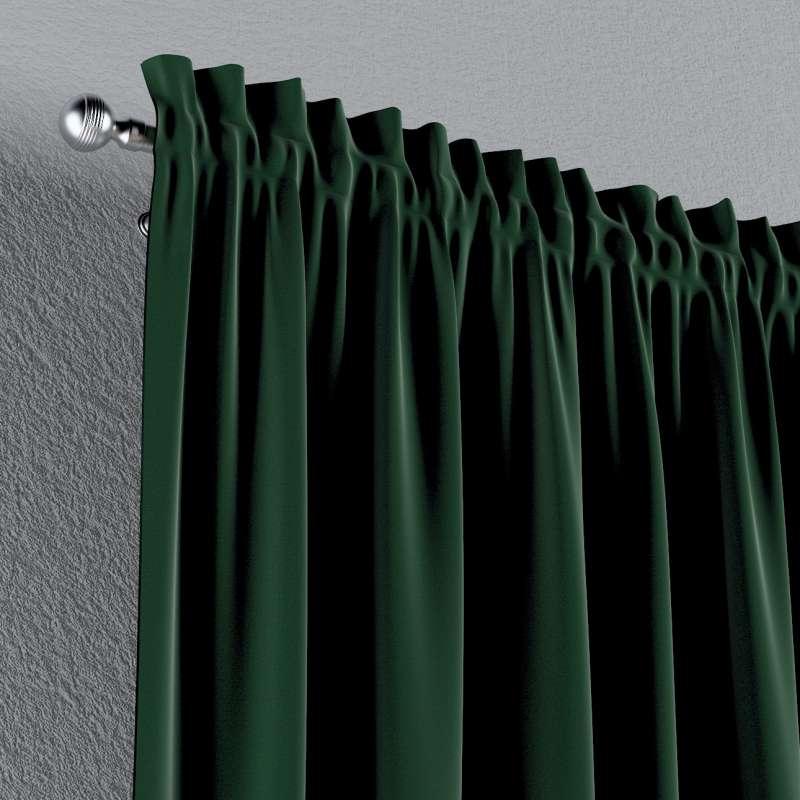 Vorhang mit Tunnel und Köpfchen 1 Stck. von der Kollektion Posh Velvet, Stoff: 704-13